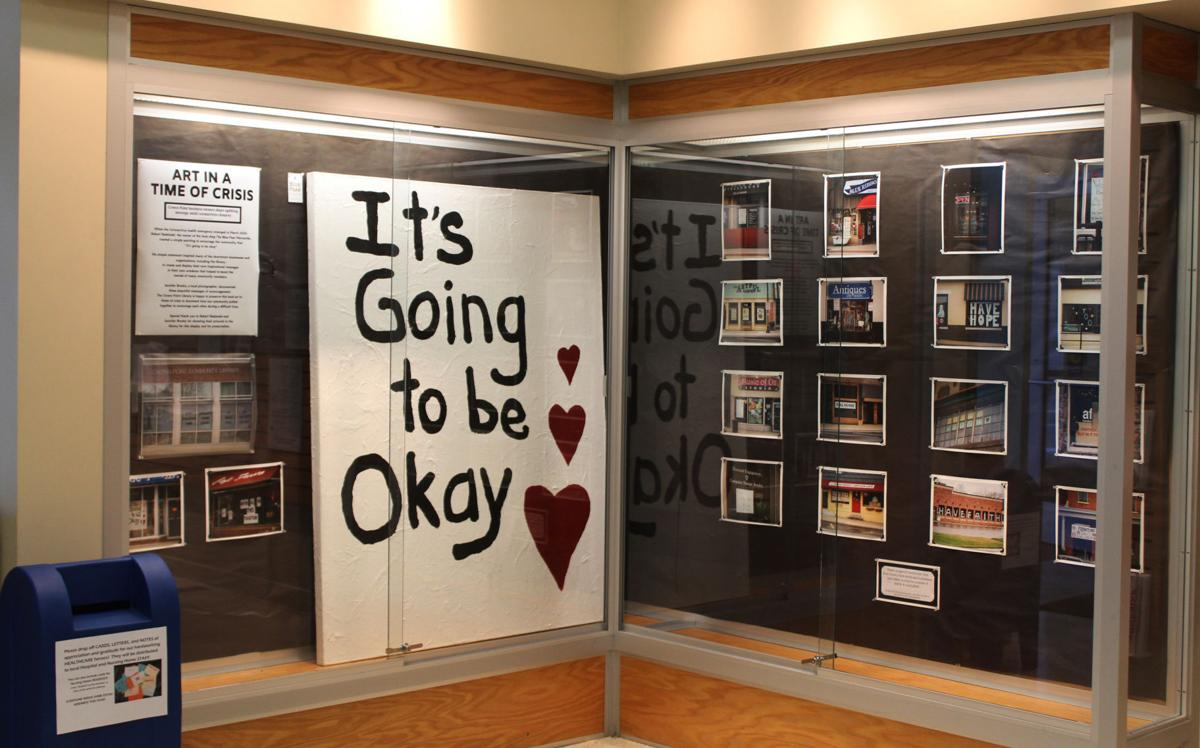 Crown Point library displays 'Art in a Time of Crisis,' a homage to uplifting messages shared by business owners in wake of coronavirus closures