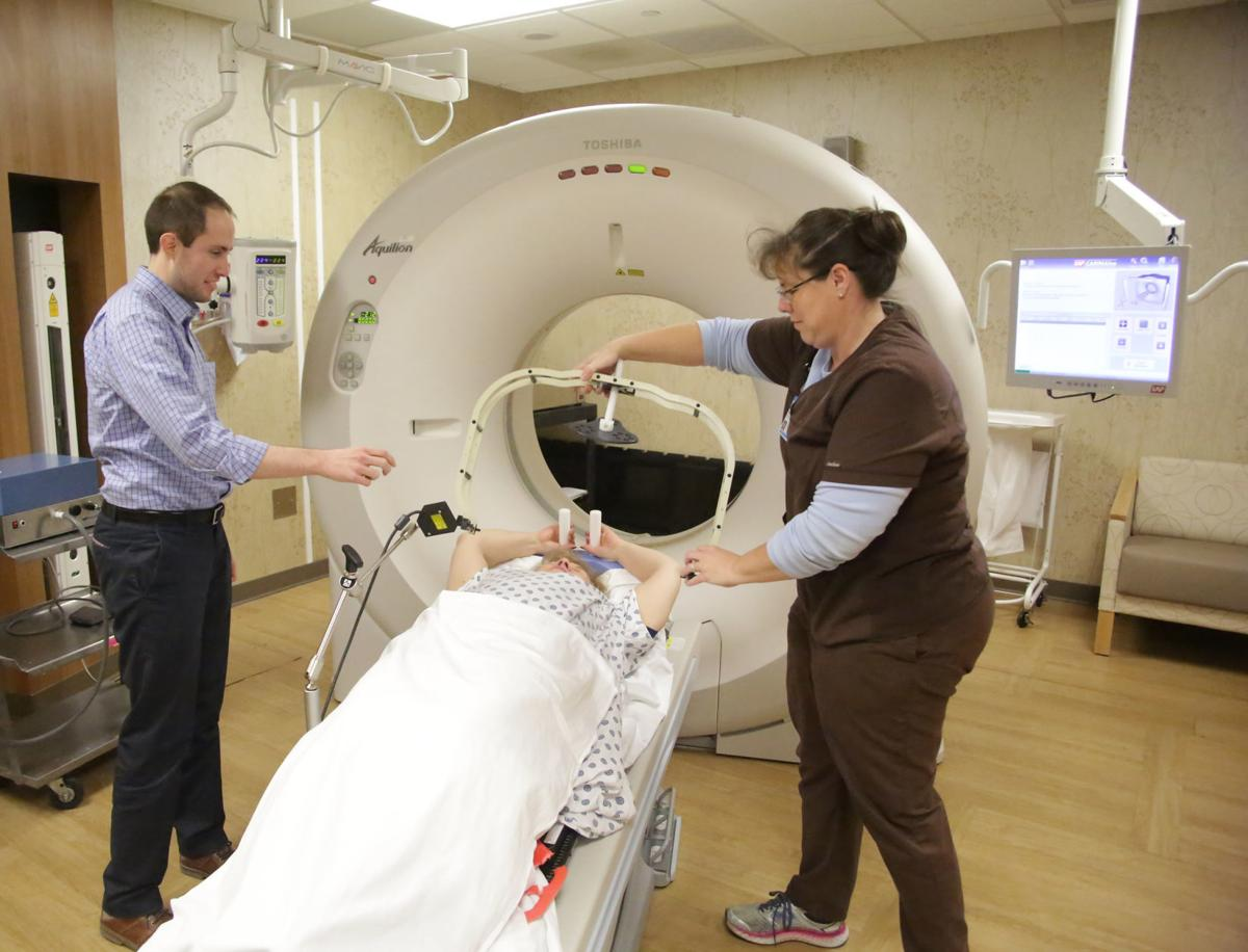 4D CT scanning at the Burrell Cancer Center in Crown Point.