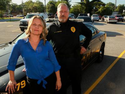 Erica Rios is a social worker for the Griffith Police Department