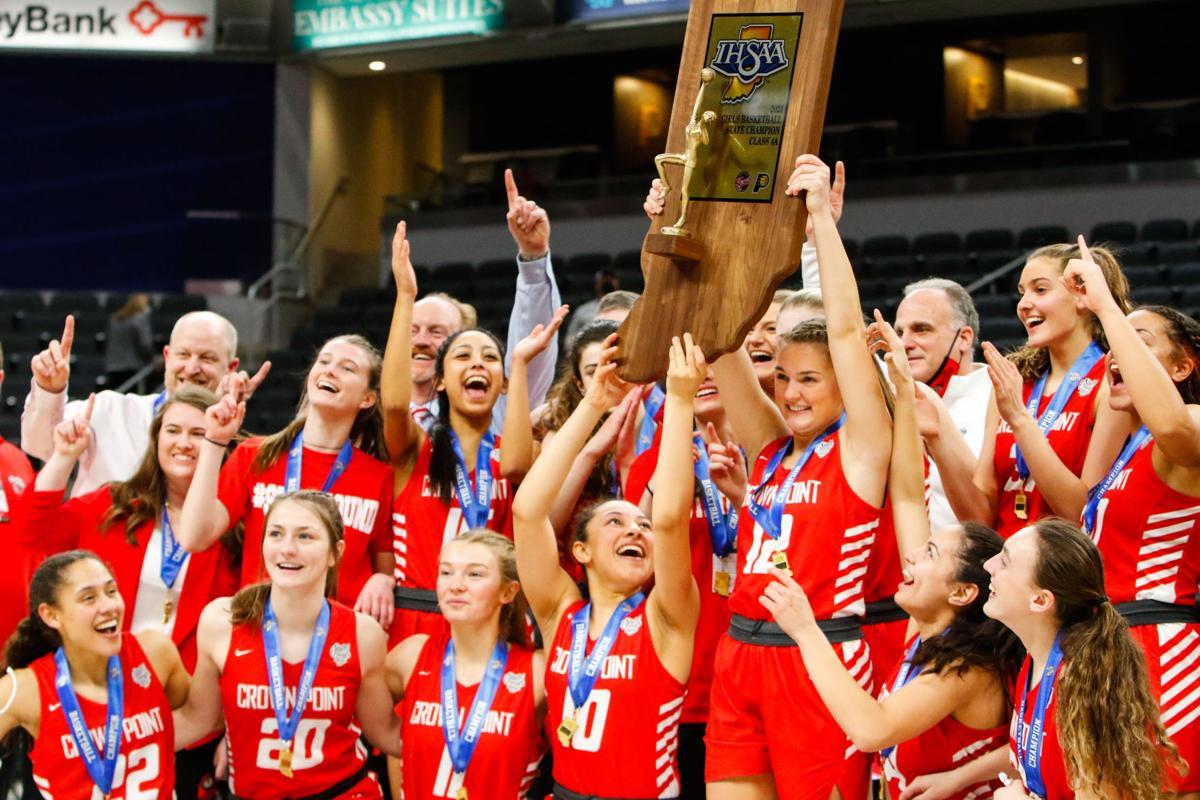 4A girls basketball state final - Crown Point vs. Brownsburg