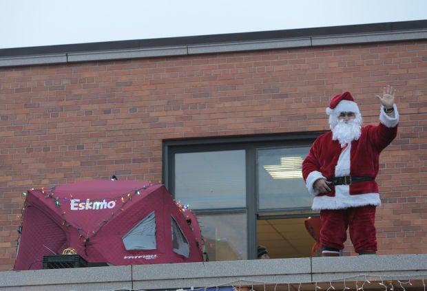 Santa helps raise $30K to save St. Florian School