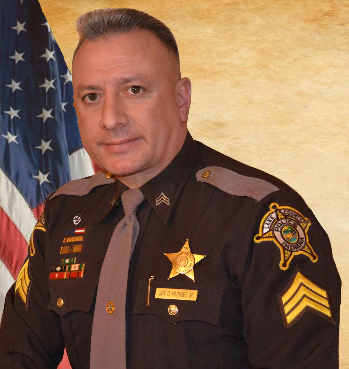 Lake County Police Sgt Oscar Martinez New