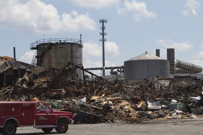 Cleanup begins at Rieter plant
