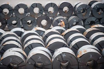 Steel output down 9.3 percent so far this year