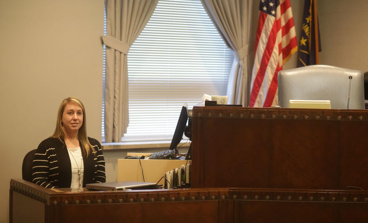 On the job with court reporter Alice Hadden