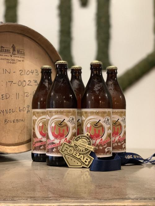 Valparaiso meadery wins gold at Festival of Wood & Barrel Aged Beers