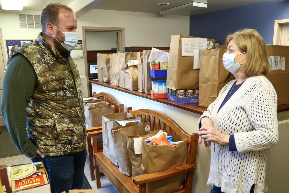 LifeWell Christian Church food donation