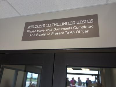 Gary/Chicago International Airport customs facility