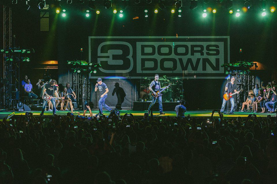 3 Doors Down to perform at Festival of the Lakes