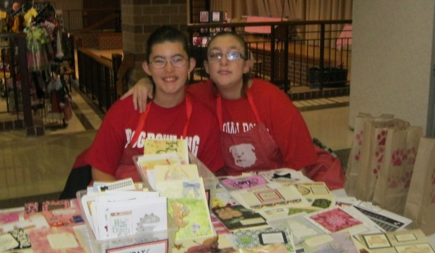 Bulldog workshop students sell greeting cards crown point bulldog workshop students sell greeting cards m4hsunfo