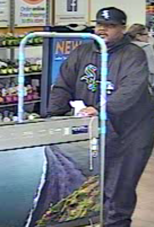 Stolen credit card charged more than $500; police seek help identifying fraud suspect
