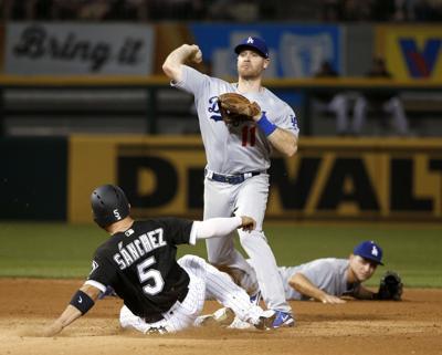 fe6590077 Dodgers White Sox Baseball