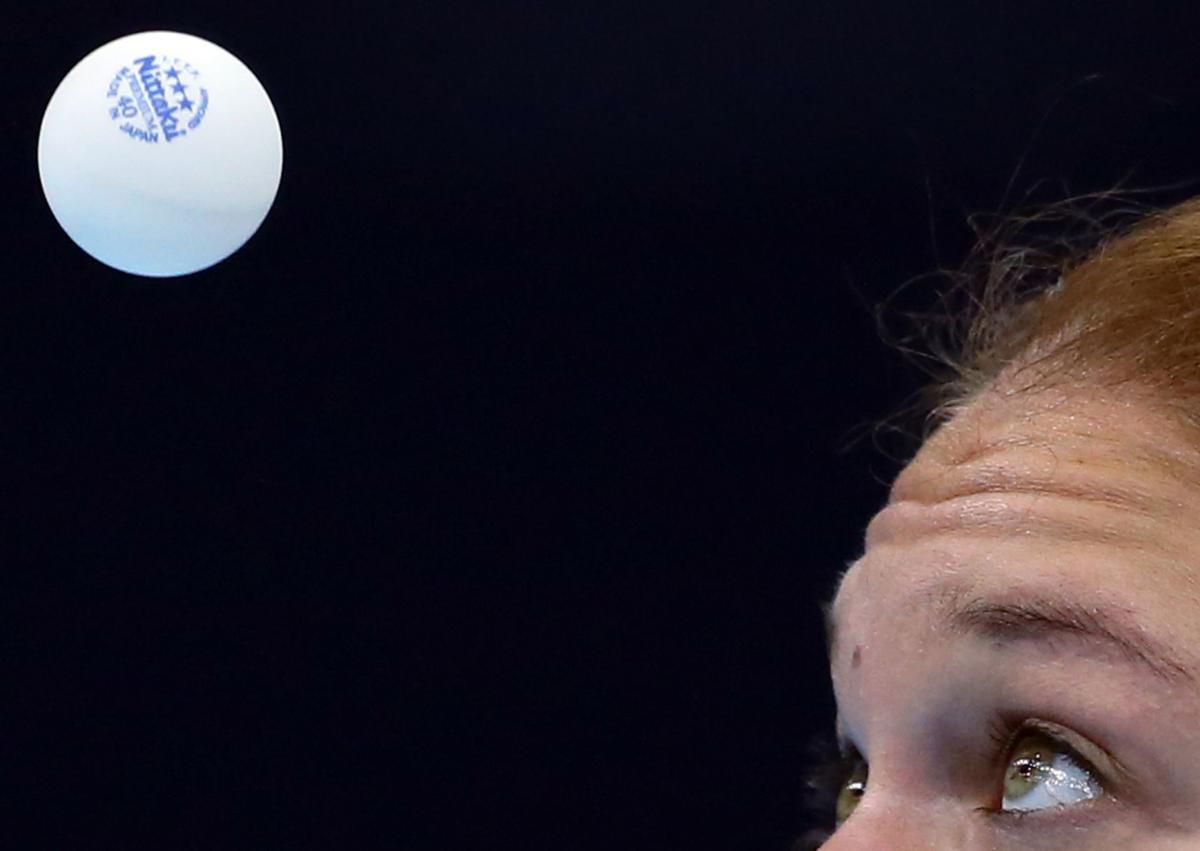 APTOPIX London Olympics Womens Table Tennis