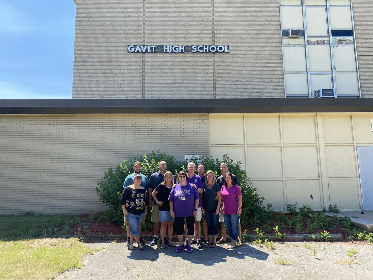 The Cory family had five pairs of high school sweethearts from Gavit Middle/High School