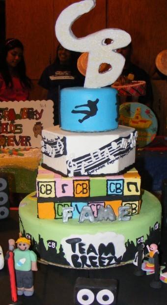 Miraculous Chris Brown Cake Nwitimes Com Personalised Birthday Cards Veneteletsinfo