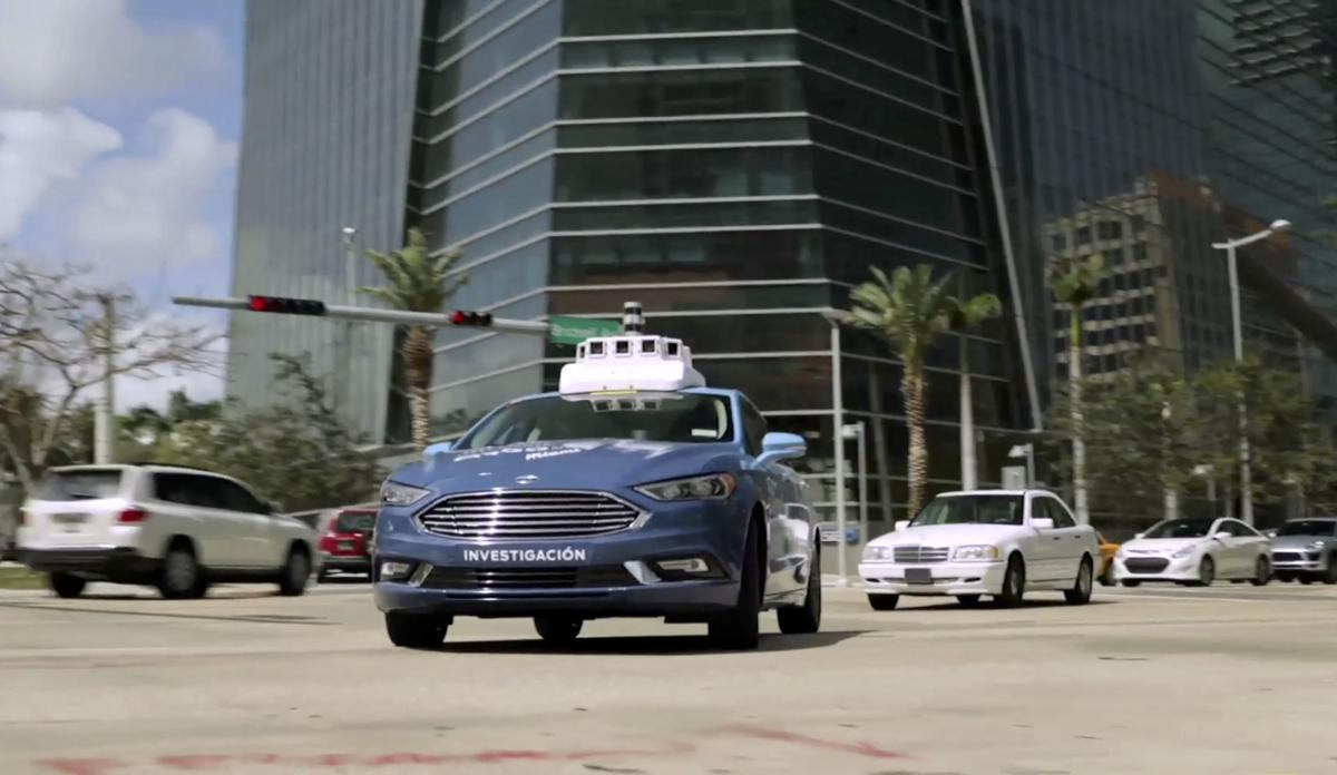 Ford Self Driving City