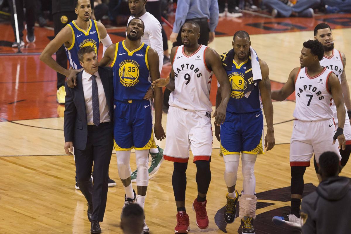 Warriors forward Kevin Durant