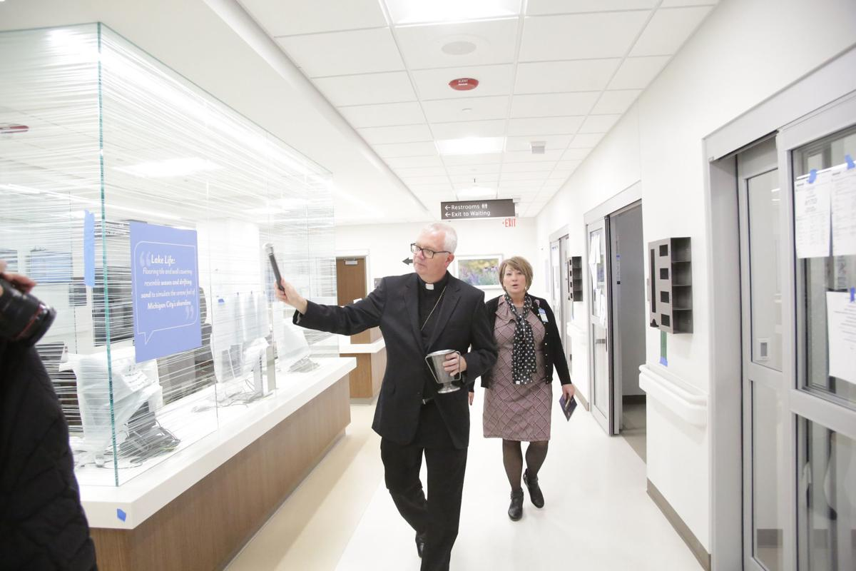 Franciscan Health Michigan City hospital opening ceremony