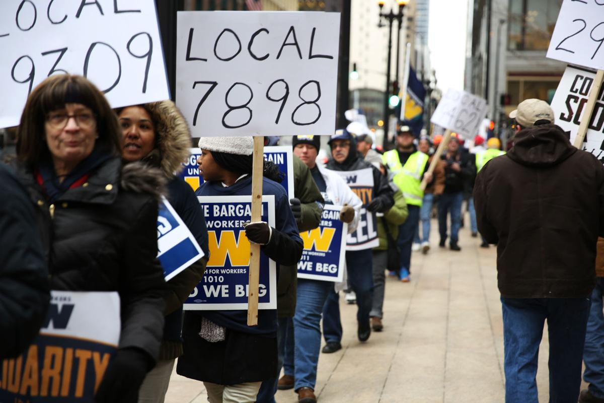 USW protestors gain audience with CEO Mittal