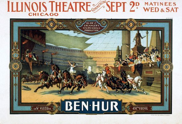 Ben-Hur stage and screen adaptations