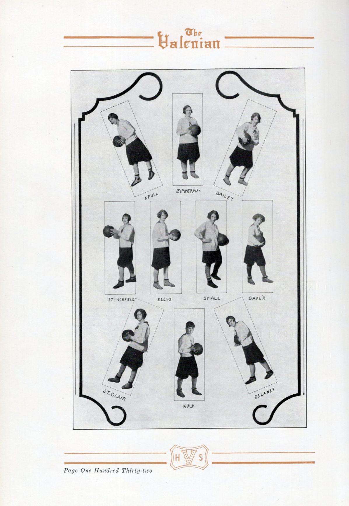 1926 Valparaiso High School girls basketball team