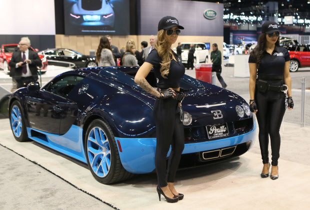 Race to the Chicago Auto Show to see the newest, coolest cars