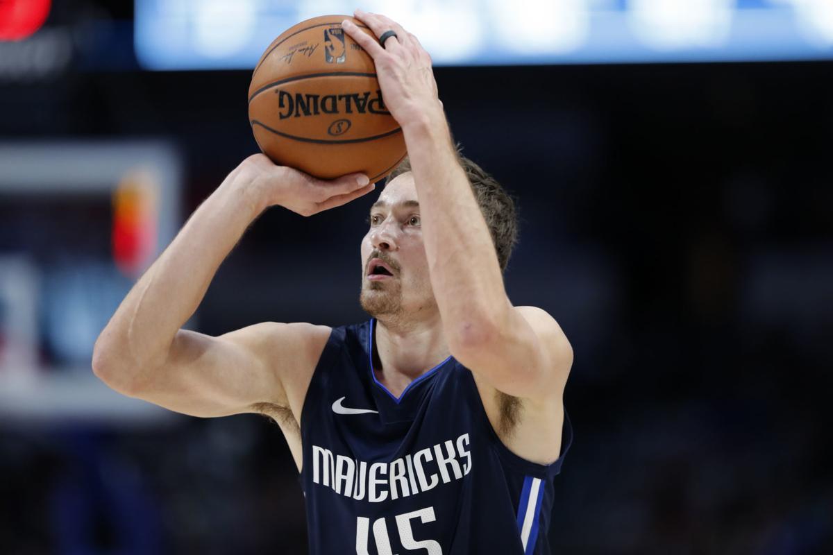 Ryan Broekhoff Dallas Mavericks Basketball