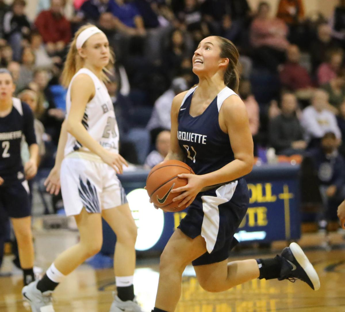 girls basketball: Marquette Catholic at Bishop Noll