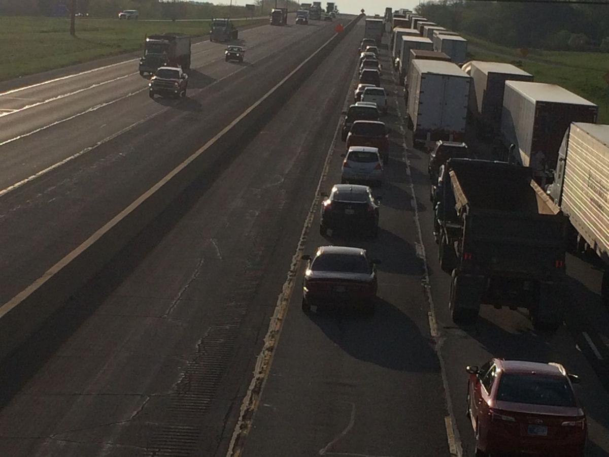 I-94 lane closures causing traffic headaches in Porter Co.