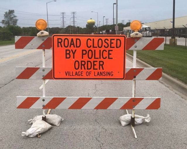 Silhavy Road and Evans Avenue closed in Valparaiso