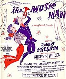 """""""The Music Man"""" Musical Poster"""
