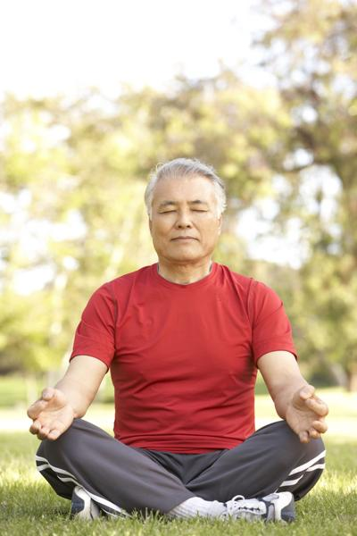 Reap the heart-healthy benefits of meditation or focused breathing
