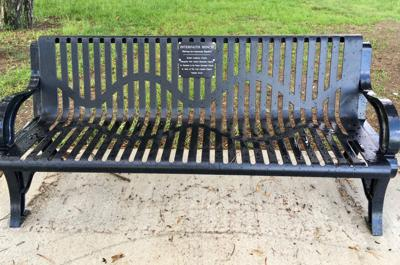 Interfaith Bench installed in Marquette Park in Miller
