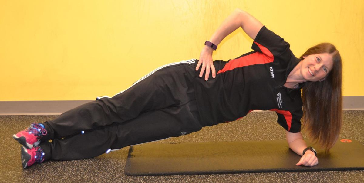 EXERCISE: Side Plank with Leg Lift