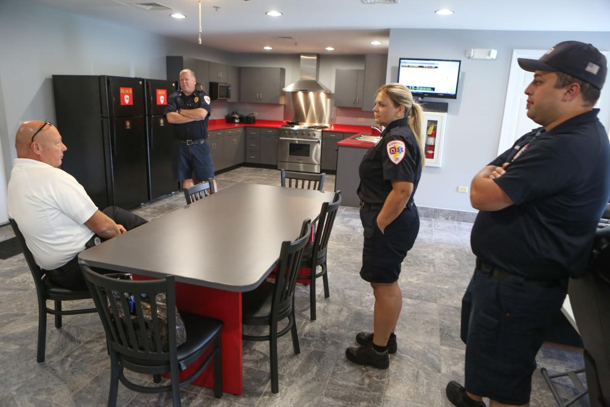 The Plum Creek Fire Station has been extensively remodeled/expanded