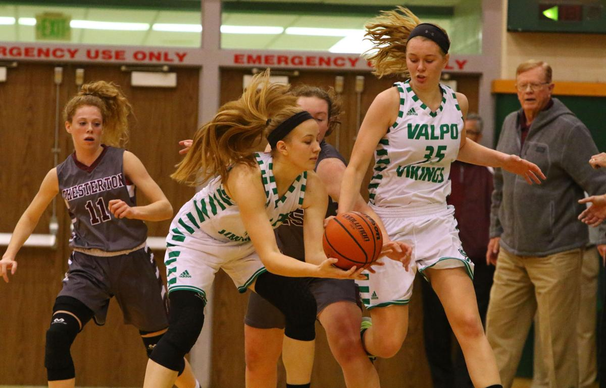Chesterton at Valparaiso girls basketball