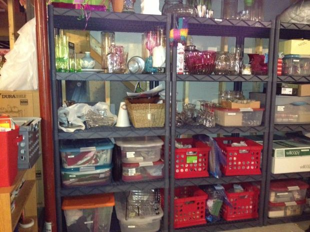 Post-holiday cheer: Pack up and organize decorations for ...