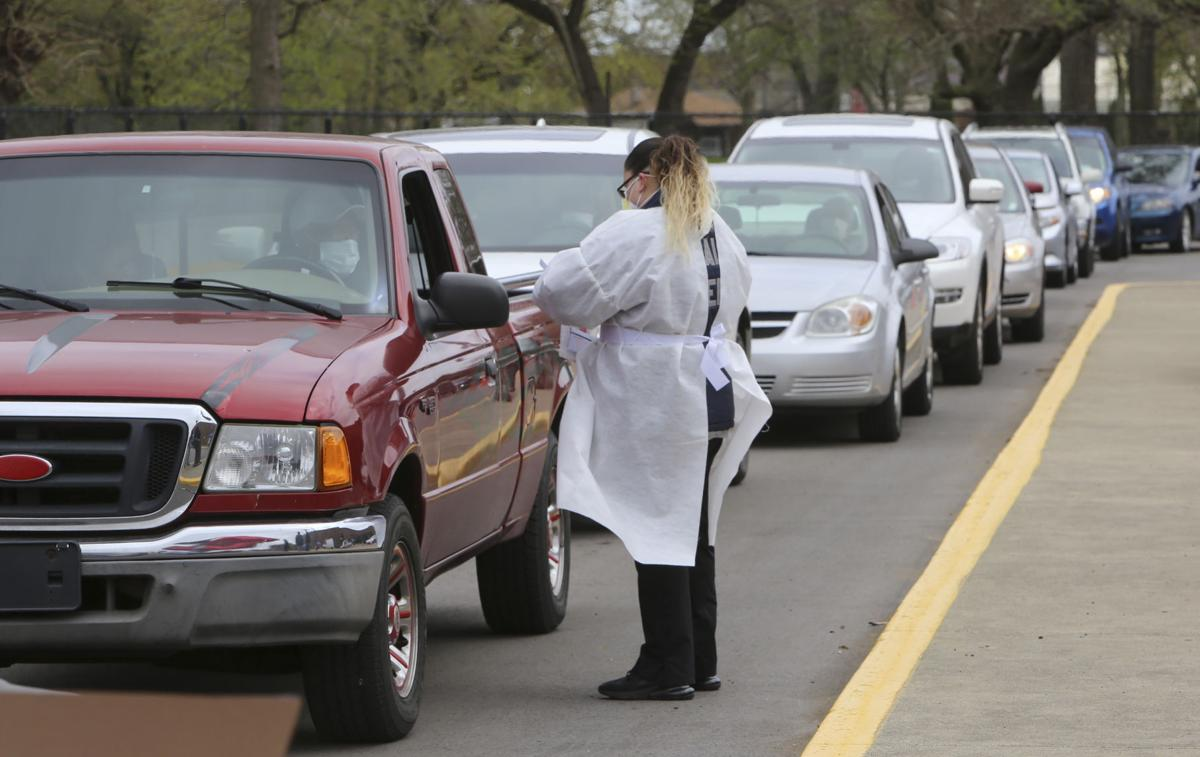 Drive-through COVID-19 antibody testing offered in Porter Wednesday