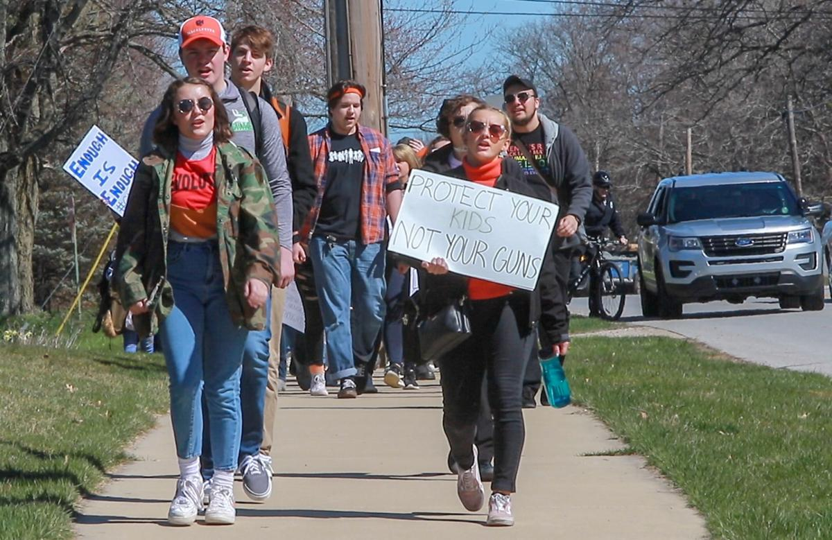 Never Again school walkout
