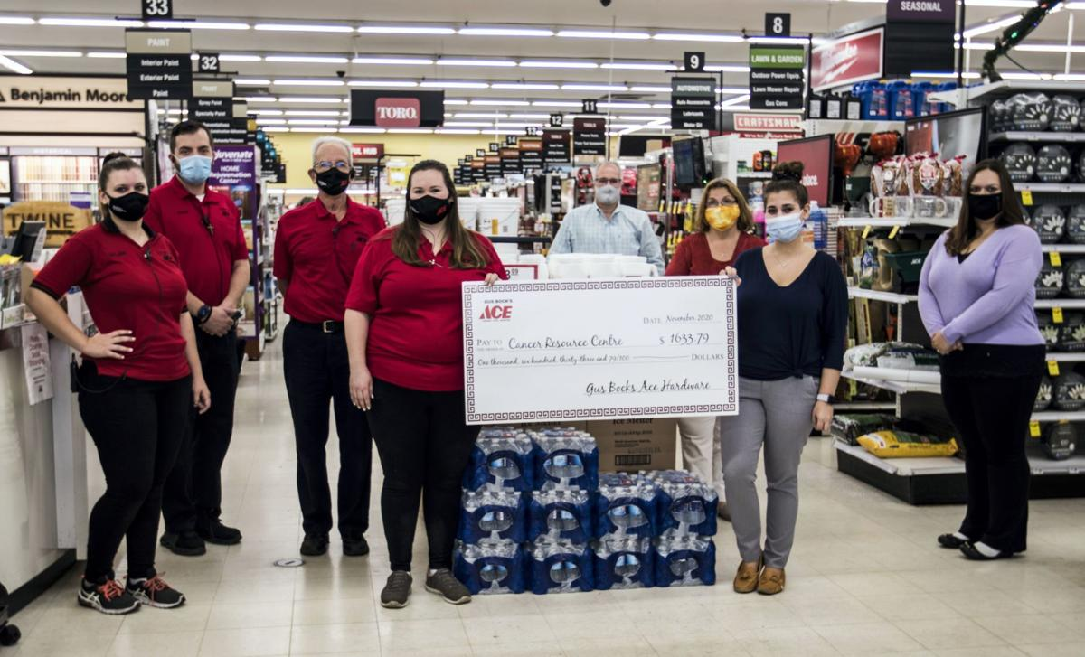 Gus Bock's Ace Hardware raises funds for Cancer Resource Centre in Munster