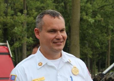 Portage Fire Chief Thomas Fieffer
