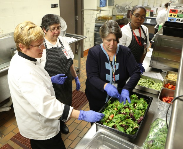 Hammond schools staff gets a lesson in good nutrition