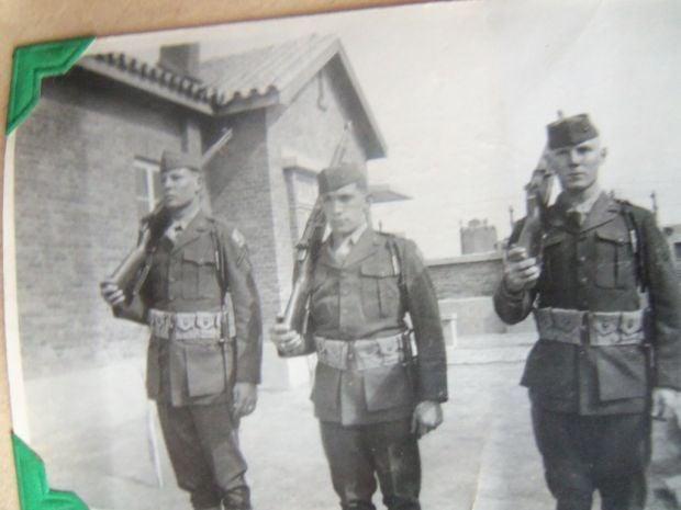 Marine trainer battled communists before war