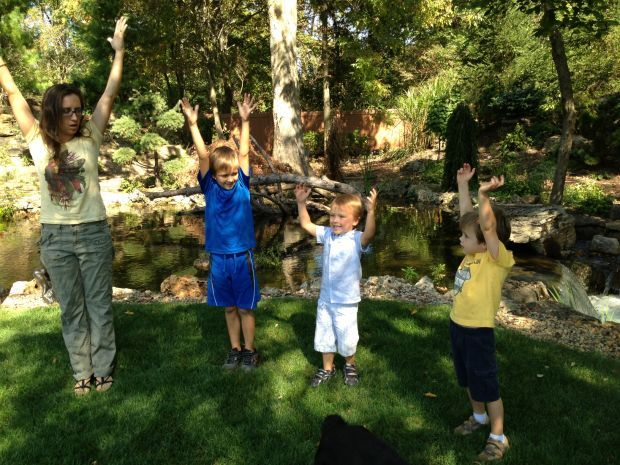 Region kids strike a pose: Yoga proves to help kids focus