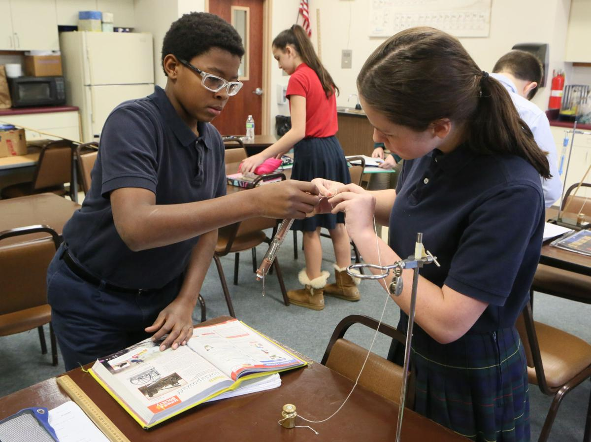 Making the Grade: St. Patrick School