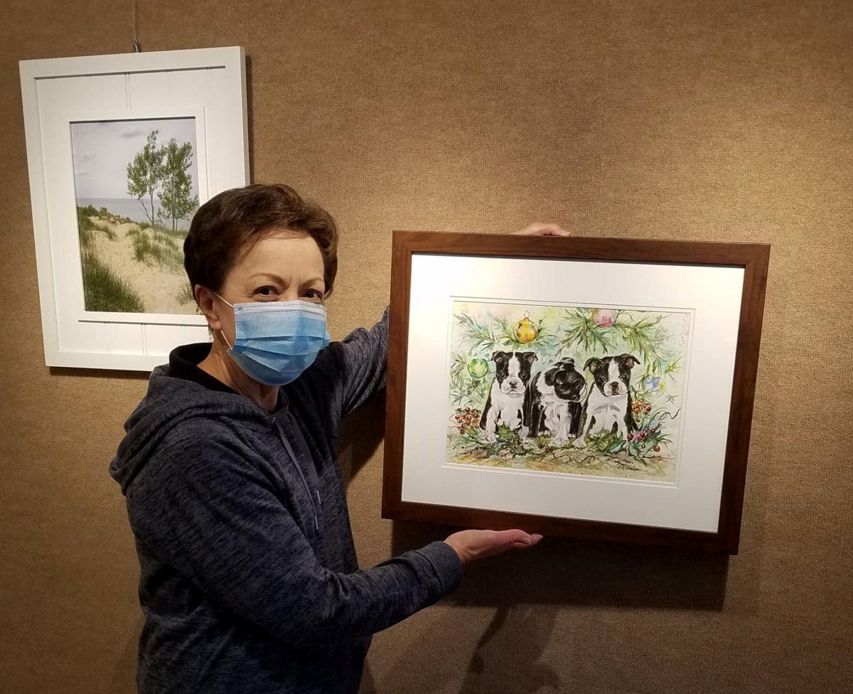 Chesterton Art Center exhibiting members' work in main galleries