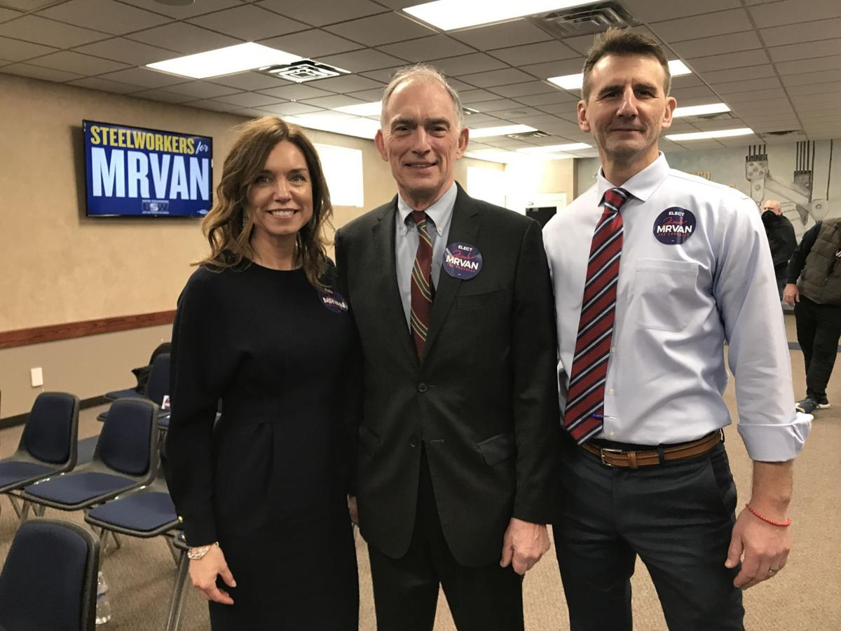 Frank Mrvan endorsed by Pete Visclocky