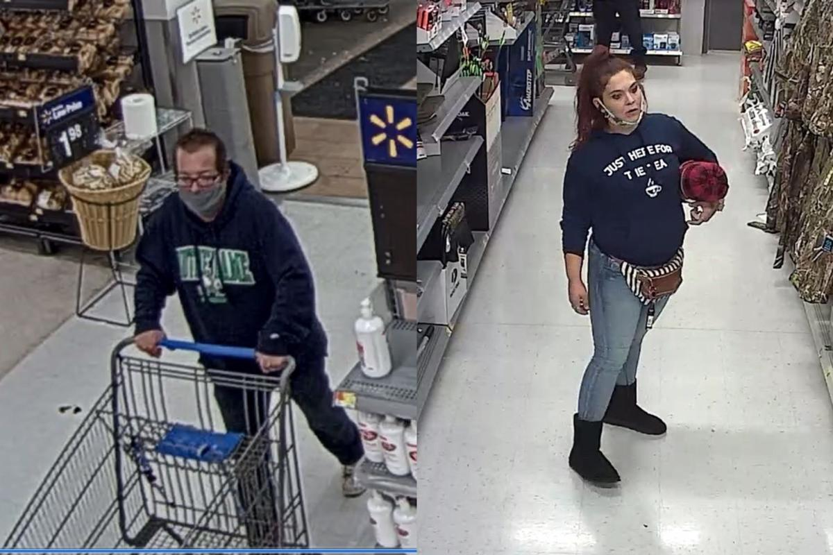 Police seek duo suspected of stealing over $1,500 in goods from Valpo Walmart