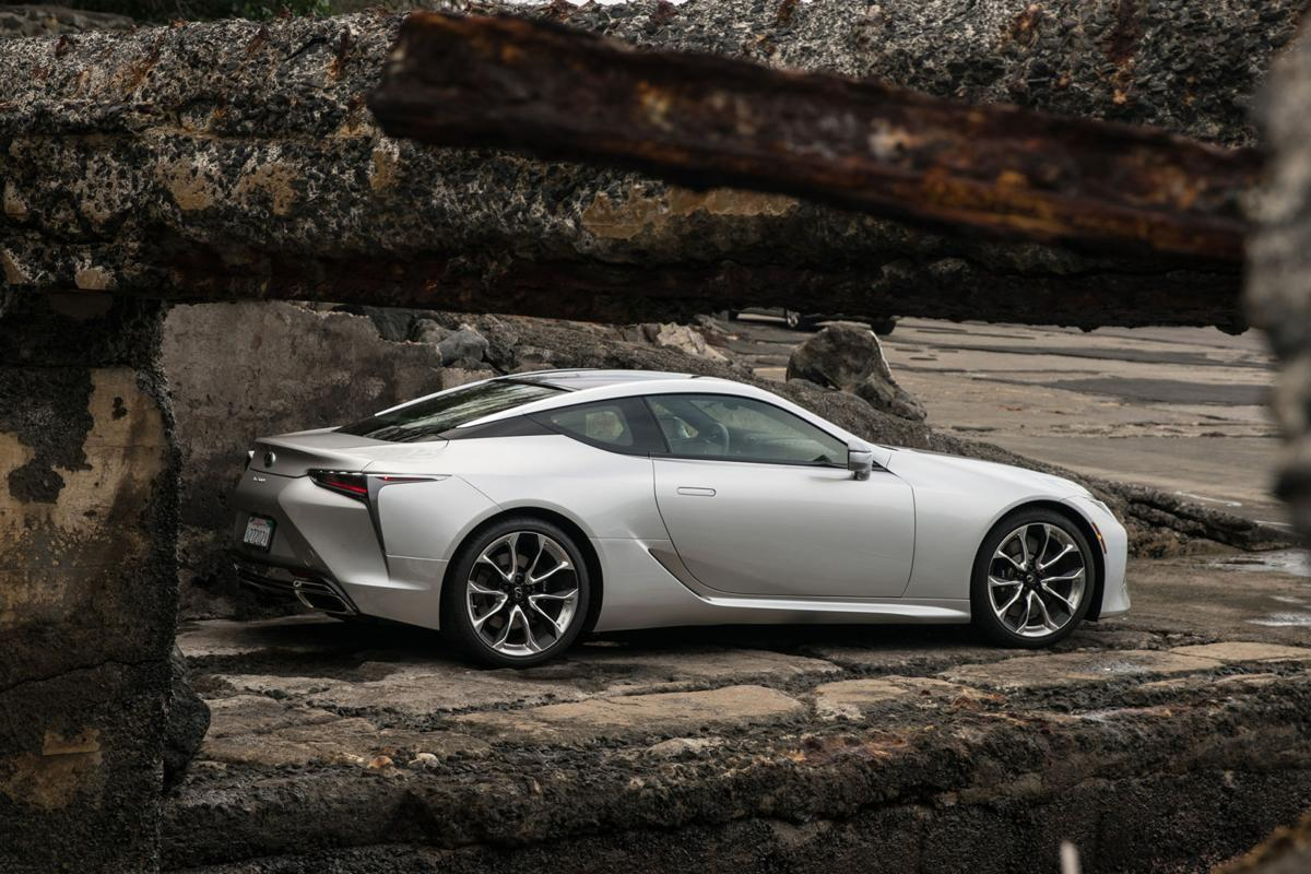 High End Lexus Coupe Shows Off Futuristic New Look Cars