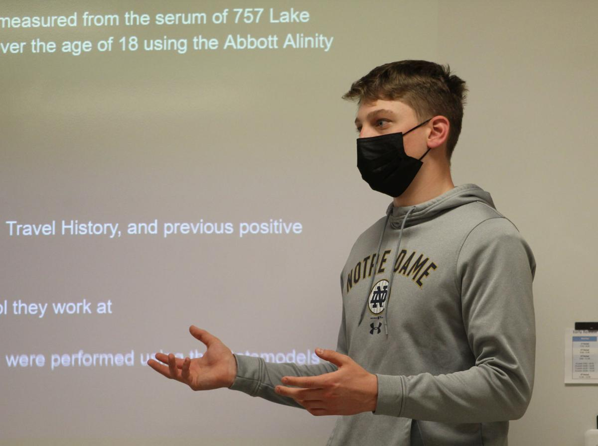 Local laboratory steps in to help Lake Central students continue coronavirus research